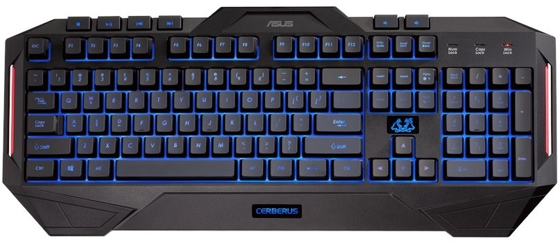 Asus Cerberus Клавиатура Инструкция - фото 5