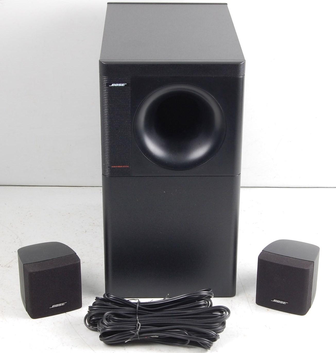Bose Acoustimass 3 Series V Black Magazilla