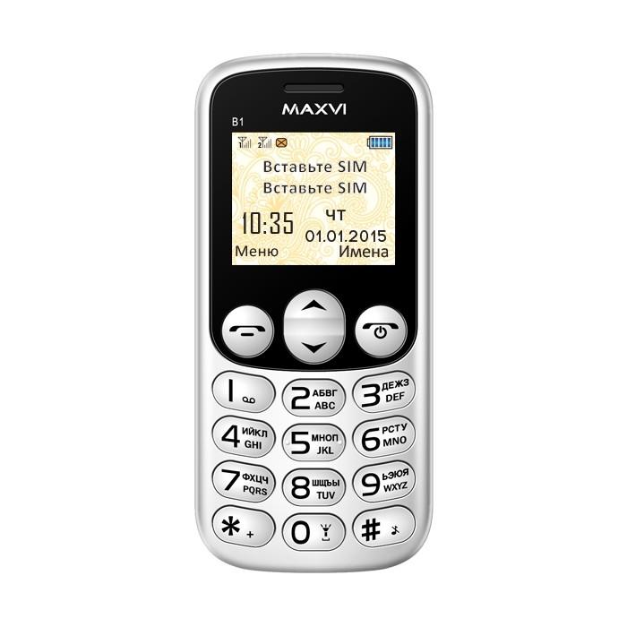 телефон Maxvi B1 инструкция - фото 3
