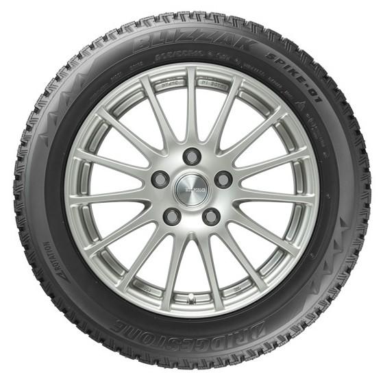 «имн¤¤ шина Bridgestone Blizzak Spike-01 255/55 R18 109T - фото 11