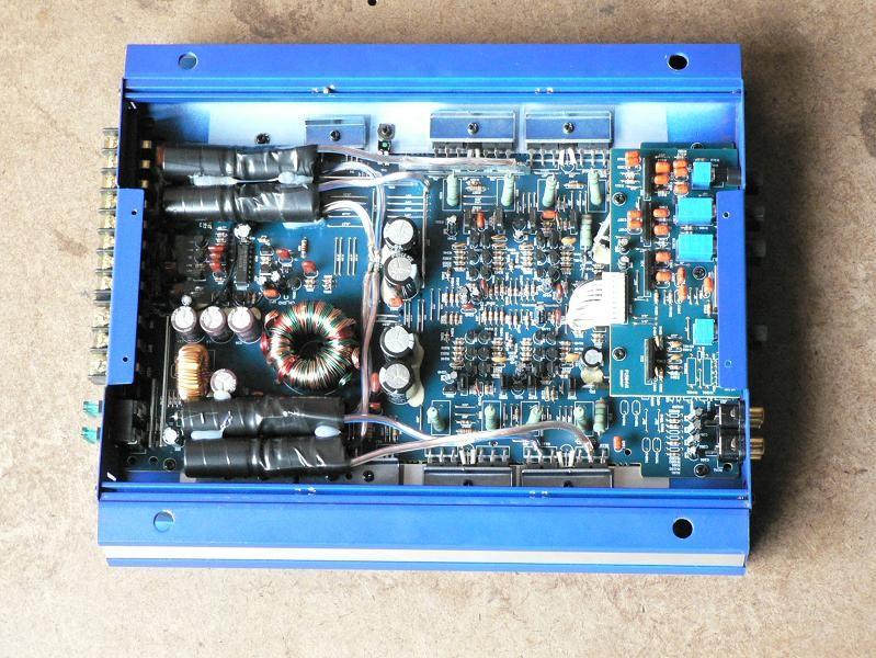 усилитель blaupunkt gta-470 инструкция