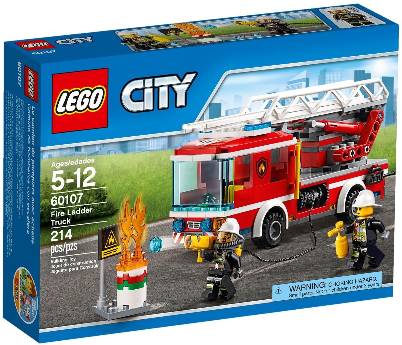 инструкция по сборке лего машина пожарного