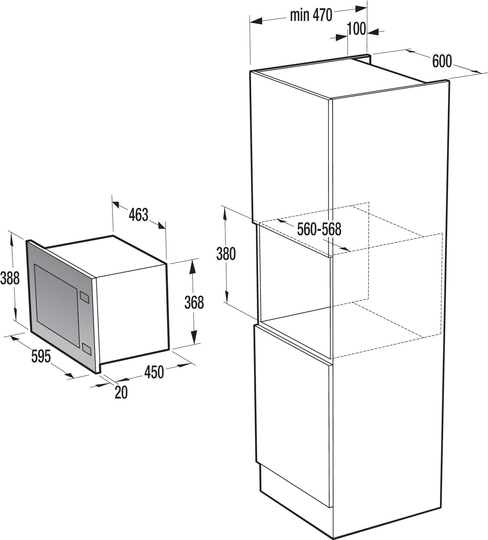 gorenje bm5240ax схема встройки