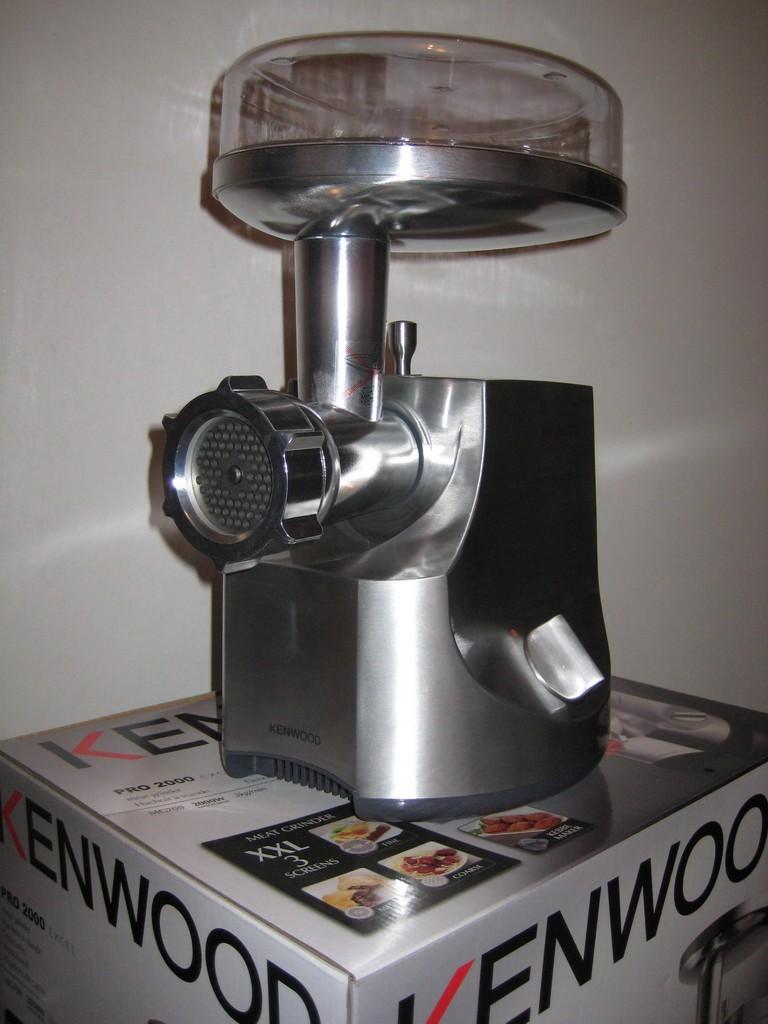 электромясорубка кенвуд инструкция