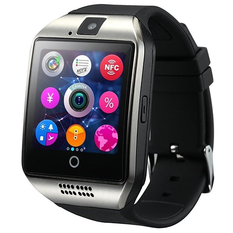 2d659874 Носимый гаджет Smart Watch Smart Q18 купить ▷ цены и отзывы магазинов  Украины: продажа в Киеве, Днепропетровске, Одессе | MagaZilla