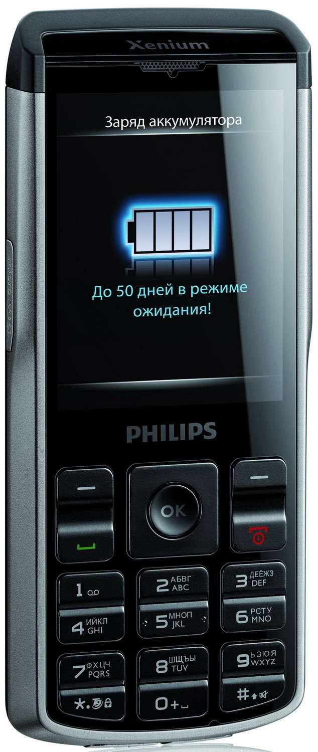 Инструкция philips xenium champion x333