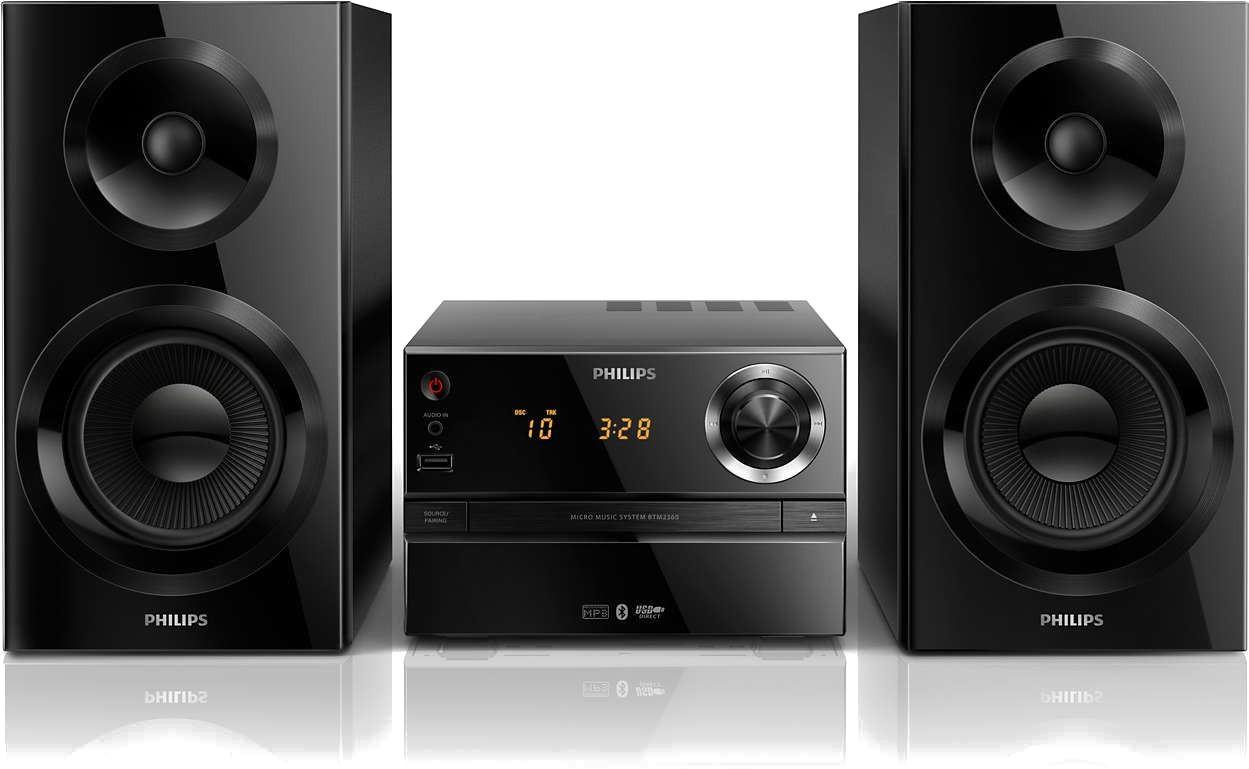 190bb4a60366 Philips BTM-2360 – купить аудиосистему, сравнение цен интернет-магазинов   фото, характеристики, описание   E-Katalog