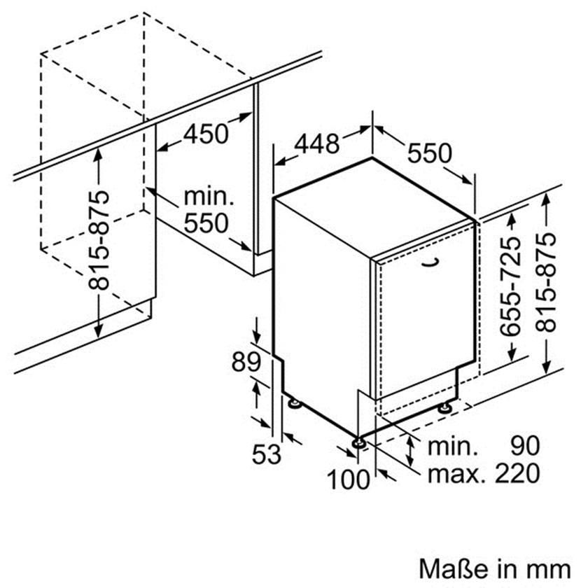 Bosch Spv 40e10 Инструкция - фото 9