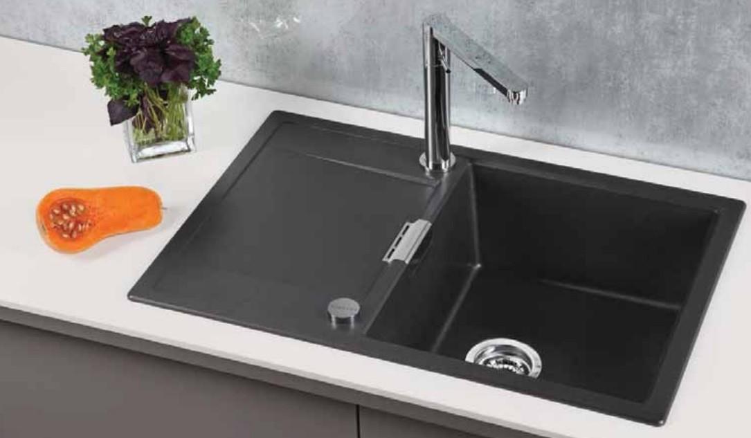 Мойка кухонная Schock Eton 45D аворио купить смеситель гигиенический душ в туалет
