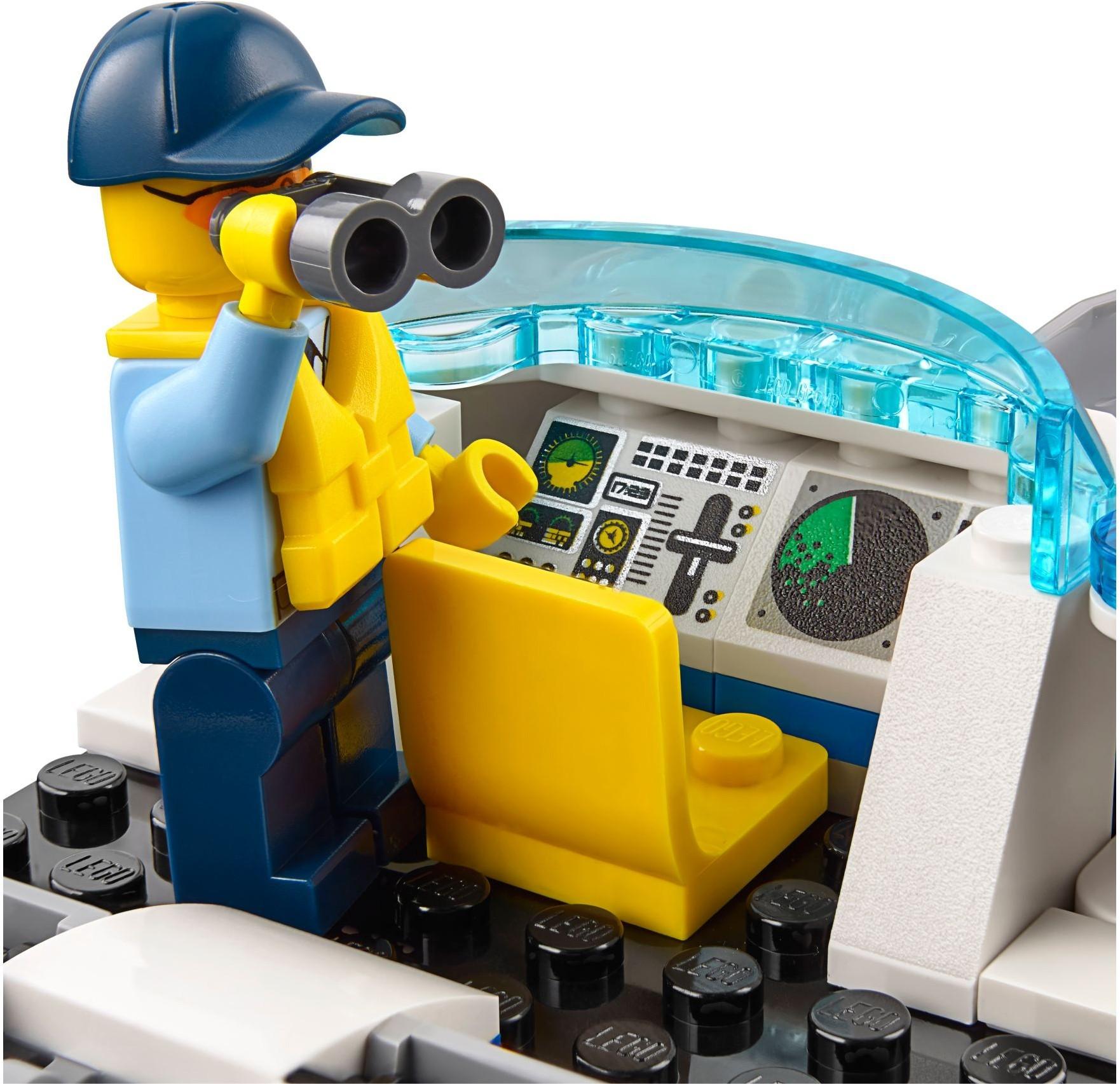 катер из конструктора lego схема