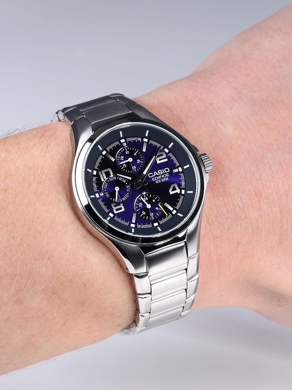 Наручные часы Casio EF-316D-2AVEF - отзывы bb7dd34140b15