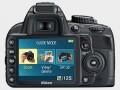 Вид сзади Nikon D3100