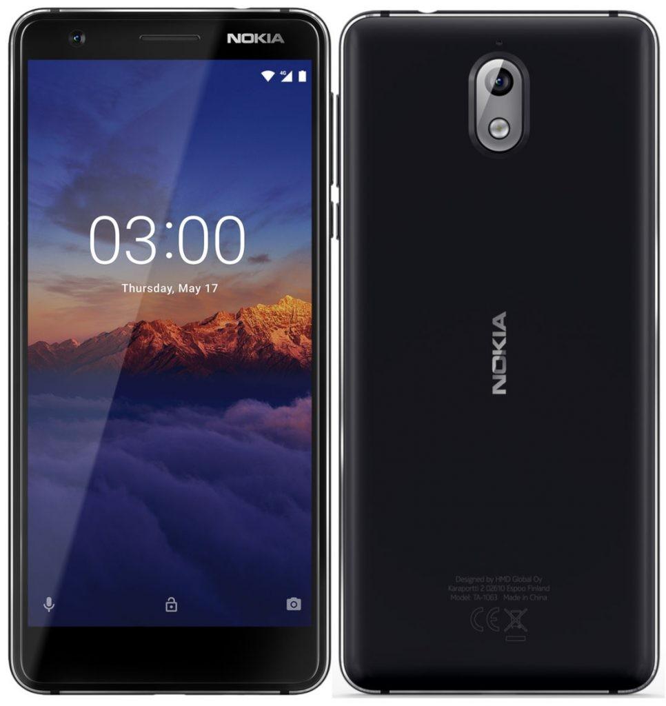 e0ef6e0860031 Nokia 3.1 - купить мобильный телефон: цены, отзывы, характеристики >  стоимость в магазинах Украины: Киев, Днепропетровск, Львов, Одесса