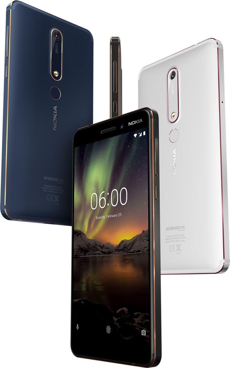 26cb2dd1816ac Nokia 6.1 32GB – купить мобильный телефон, сравнение цен  интернет-магазинов: фото, характеристики, описание | E-Katalog