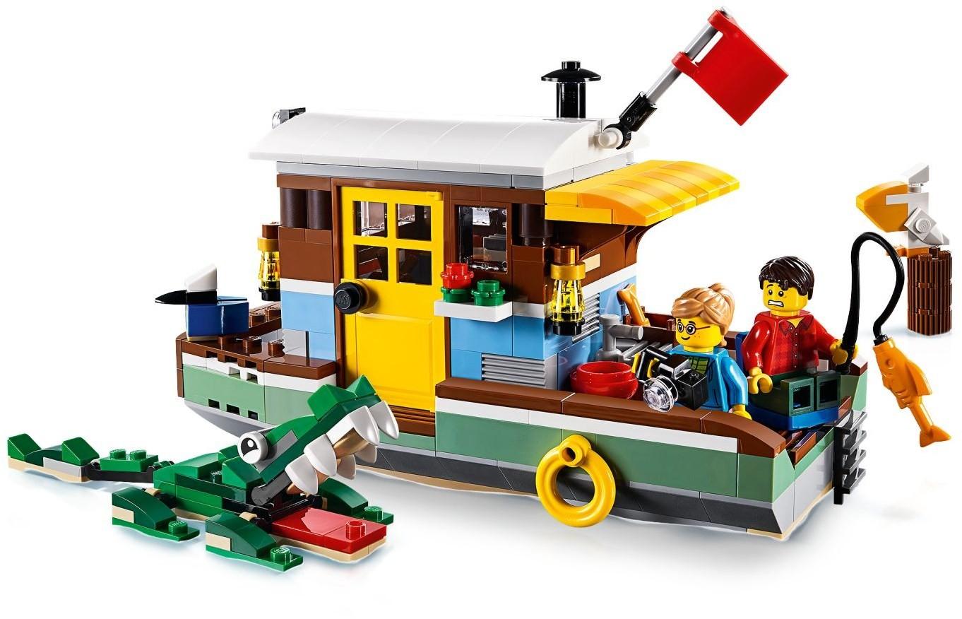 Lego Riverside Houseboat 31093 (31093) - купить конструктор: цены ...