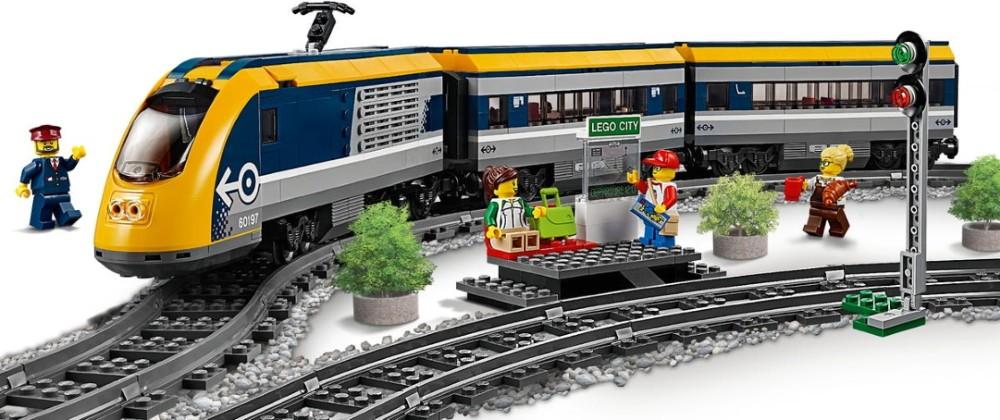 Lego Passenger Train 60197 (60197) - купить конструктор: цены ...