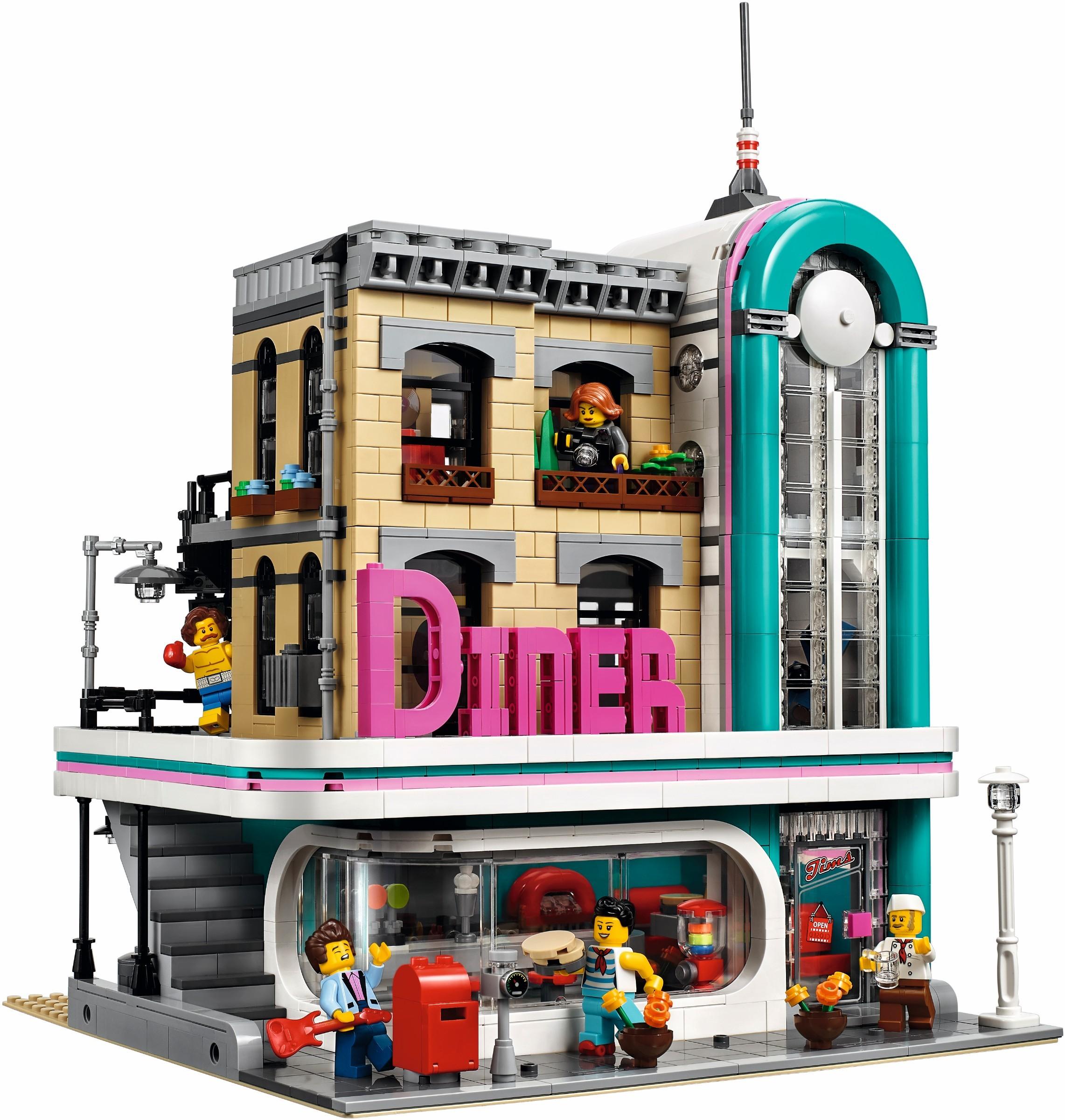 Конструктор Lego Downtown Diner 10260 купить ▷ цены и отзывы ...