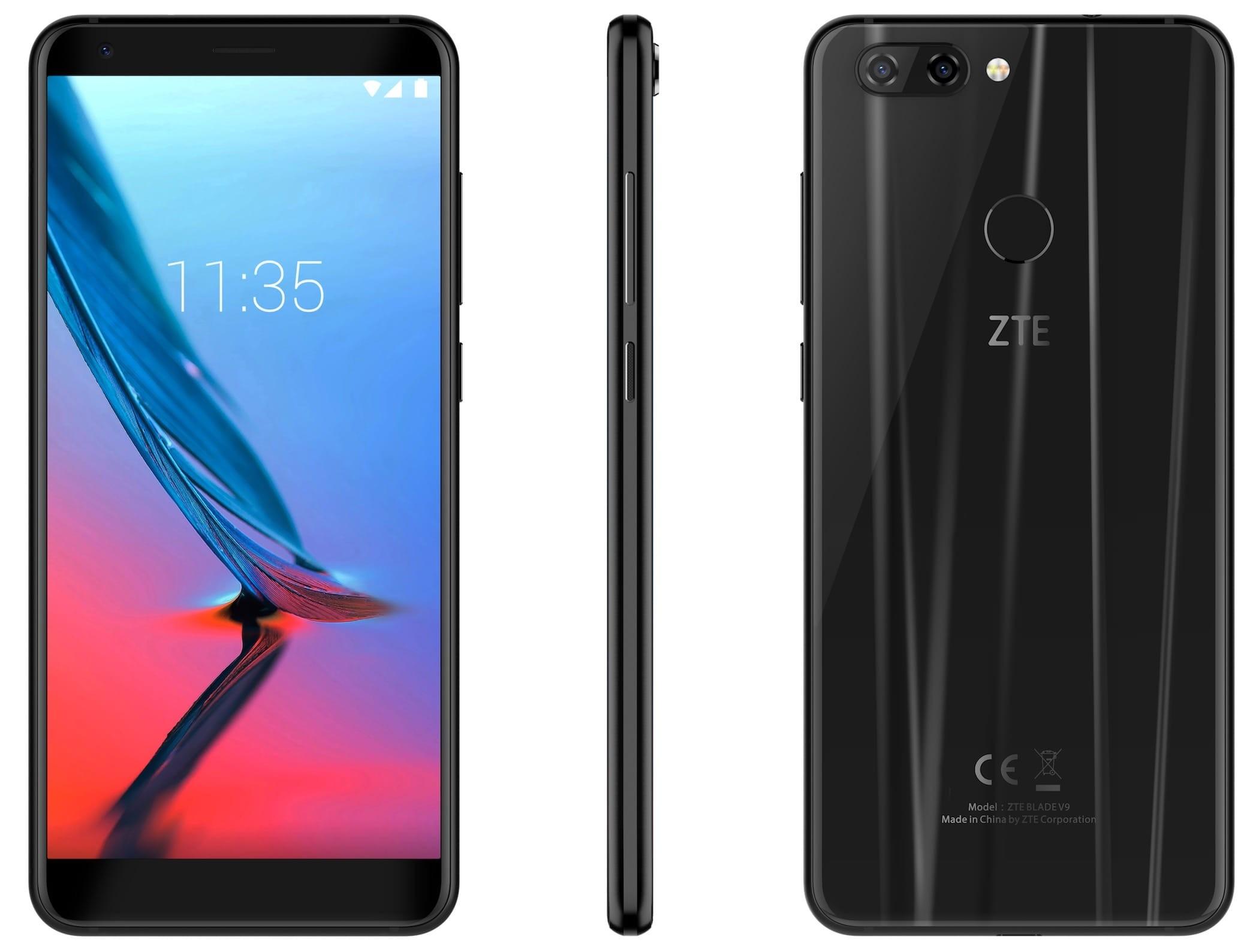 8ea8645eb94fd ZTE Blade V9 32GB – купить мобильный телефон, сравнение цен  интернет-магазинов: фото, характеристики, описание | E-Katalog