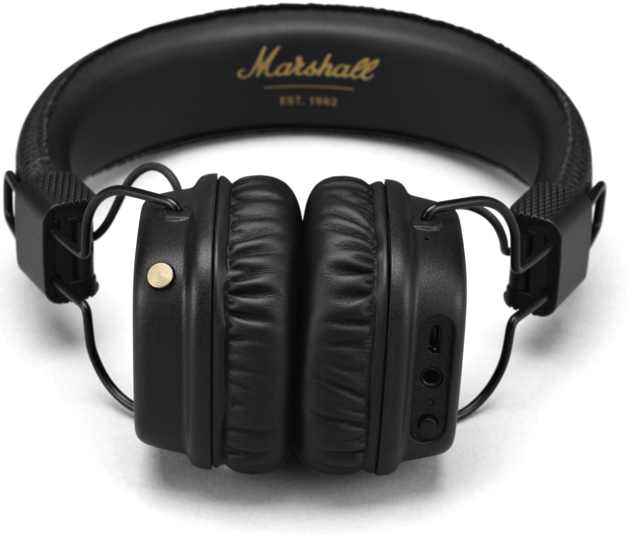 Marshall Major II Bluetooth - купить наушники  цены ae3444a023b05