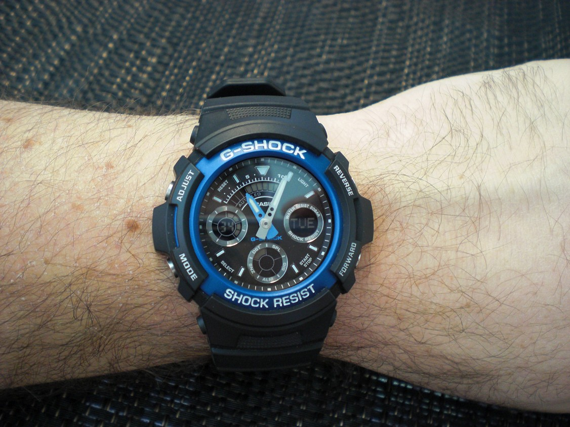 1e873c38888d Наручные часы Casio AW-591-2A