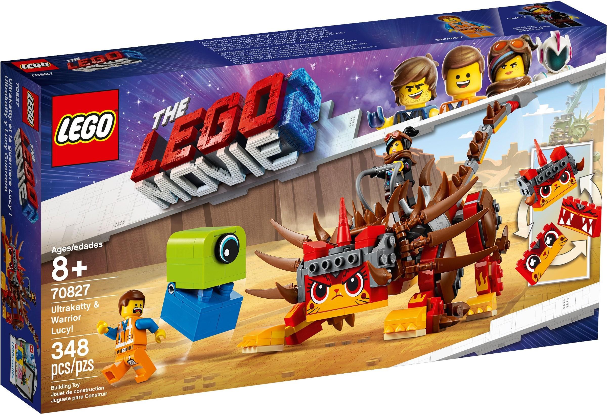 Ultrakatty /& Warrior Lucy 70827 LEGO® Movie™