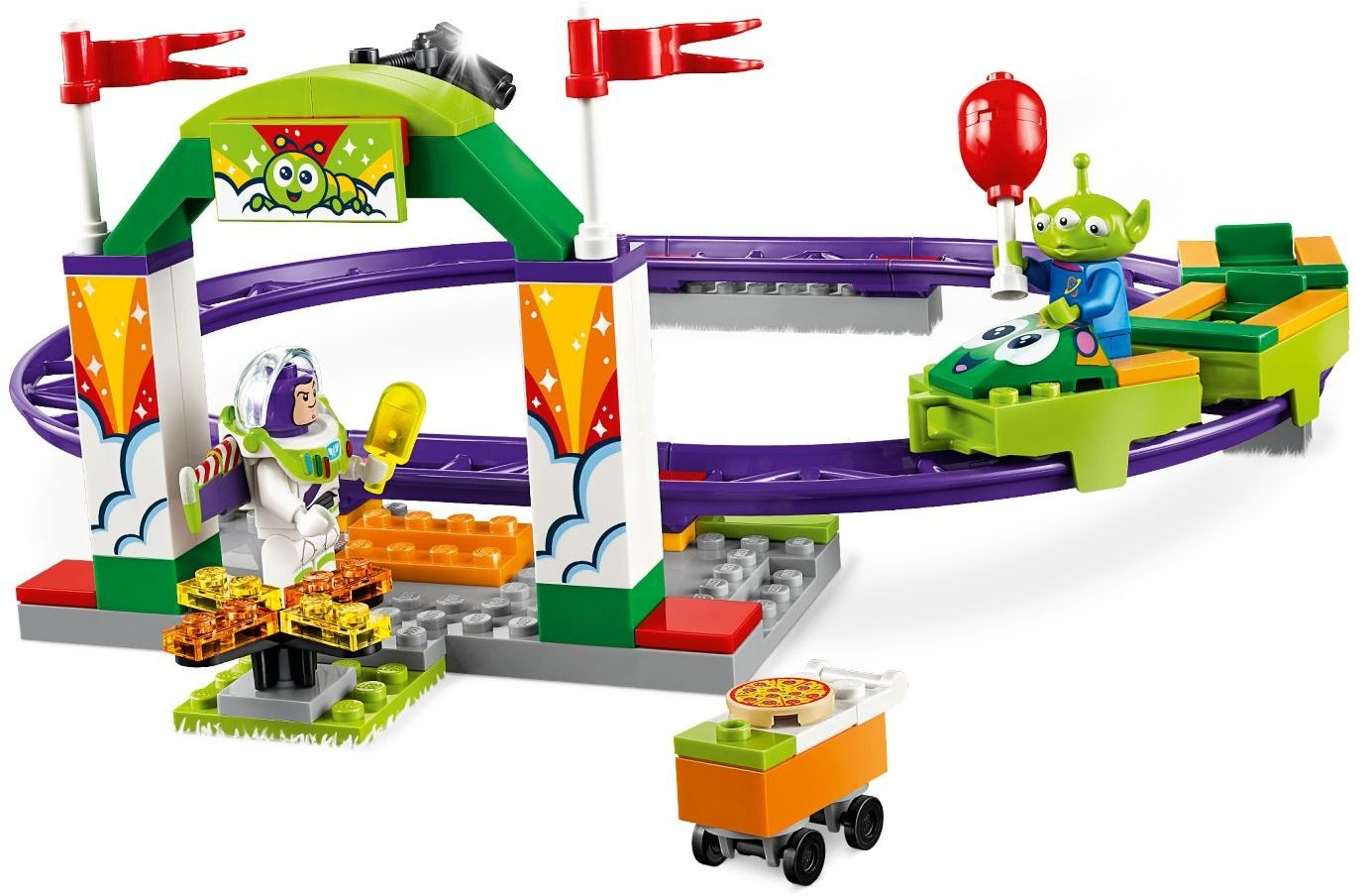 Lego Carnival Thrill Coaster 10771 (10771) - купить конструктор ...